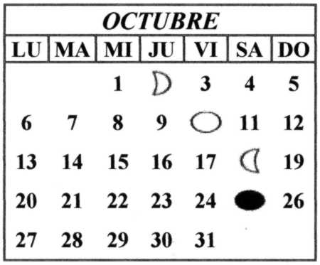 efemerides de octubre Colouring Pages